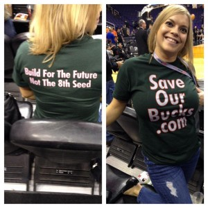 Save Our Bucks, Milwaukee Bucks
