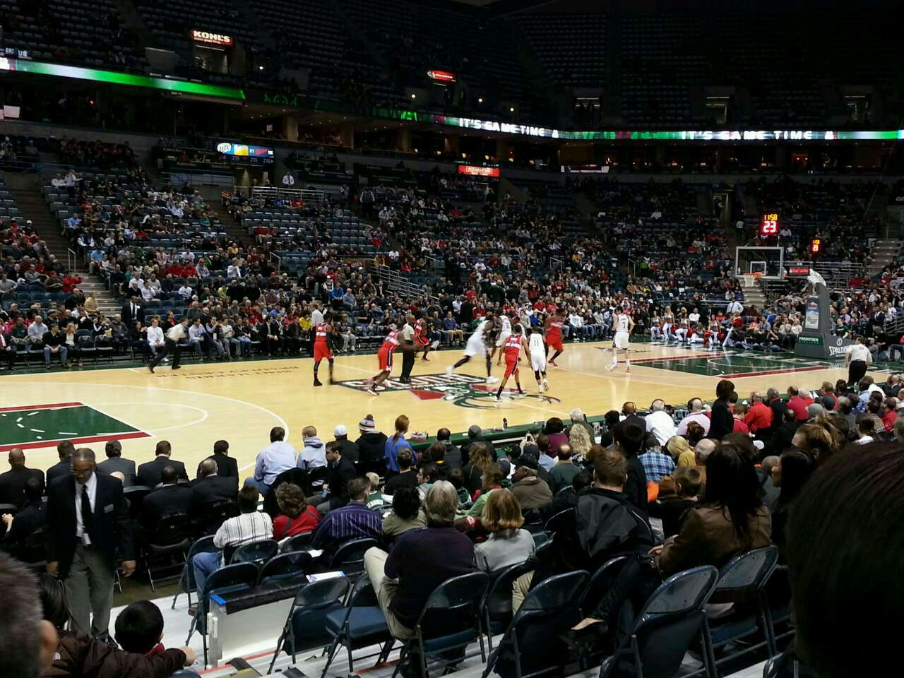 Milwaukee Bucks Bradley Center empty