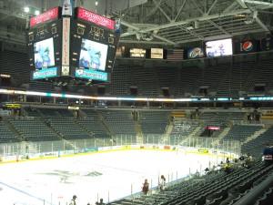 Bradley Center Hockey