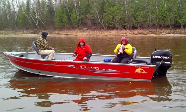 Lund Fishing Boat